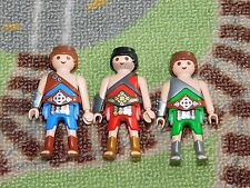 PLAYMOBIL from PlaymorePlaymo male figure lot romans