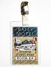 Psycho Bates Motel ID Badge Norman Bates Horror Cosplay Prop Costume Comic Con