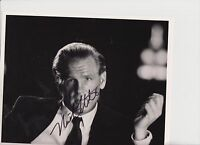 "NICK NOLTE Signed 10"" X 8"" PHOTO CARD"