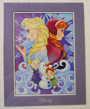 Disney Fine Art Impressions Print-Frozen Elsa and Anna by Tim Rogerson