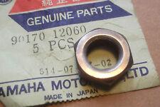 YAMAHA TA125  TY80  YZ80  TTR125  YFM125  GENUINE NOS CLUTCH NUT - # 90179-12060