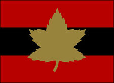 3x4 inch First Army Canadian Formation Flag Sticker -decal canada military corps