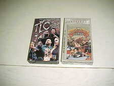 WF World Wrestling Federation Survivor Series VHS NEW + Tables Ladders Chairs