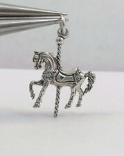 Sterling Silver Charm - CAROUSEL PONY - 1950