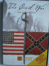 The History Channel Club DVD The Civil War Battle of First Bull Run New Sealed
