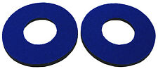 Flite old school BMX bicycle grip foam donuts - BLUE *MADE IN USA*