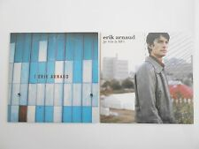 || LOT CD Single Collector - Port 0€ || ERIK ARNAUD : 2 CD PROMOS