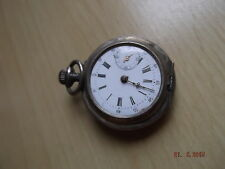 [45] Alte keline Taschenuhr old pocket watch  Cylindre 10 Rubis 3,2 cm