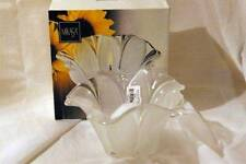 """Mikasa Sunflower Frost Votive Candle Holder 6"""" In Box"""