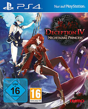 Deception IV The Nightmare Princess Neu PS4