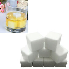 Hot Sell 9PCS Ceramic Stone Ice Cubes Chillers for Whiskey Wine Beverage Drinks