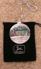 1996 John Deere Christmas Ornament Pewter