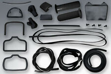LAMBRETTA RUBBER KIT SERIES 1 & 2 IN BLACK