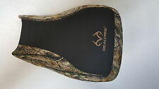 HONDA FOREMAN 500 REALTREE seat cover new black gripper & camo FITS 2014 2015