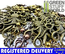 Steampunk OCTOPUS Set 85 gr - Jewellery Making - Beads, Charm and Pendant