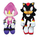 NEW Set of 2 Great Eastern Sonic the Hedgehog - Espio Chameleon & Shadow Plush