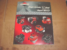 BRIGGS & STRATTON SMALL ENGINE LAWN & GARDEN MOWER TRACTOR MINI BIKE REPAIR BOOK