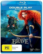 Brave (Blu-ray, 2012, 2-Disc Set) brand new in plastic