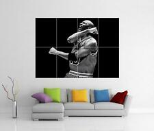 Michael JORDAN Chicago BULLS GIANT WALL ART photo imprimé Poster