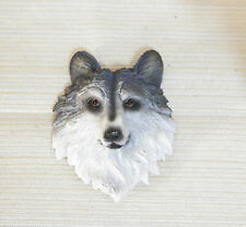 NEW WILD LIFE WOLF DOG 3D REFRIGERATOR FILE CABINET MAGNET DECORATION ADORABLE