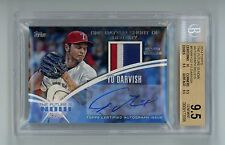 2014 Topps Future is Now Yu Darvish 8/10 AUTO Relic Autograph Graded BGS 9.5/10