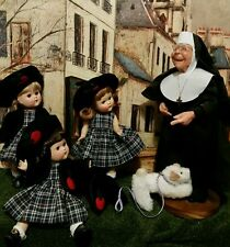 "Private school poseable12"" Nun teacher. Other dolls/uniforms listed separately"