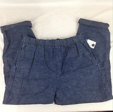 NWT Urban Outfitters CPO Provisions Mens Blue Cotten Drawstring Pants Large L