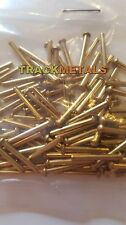 "Brass Rivets  1/16 dia x 1/2"" long  R/Head  100 off"