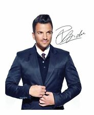 PETER ANDRE SIGNED AUTOGRAPHED A4 PP PHOTO POSTER A