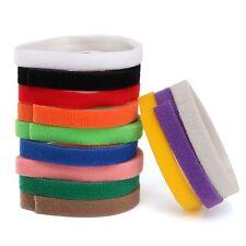 12 Farbe Welpen ID Halsbänder Klettband Welpenhalsband Neu für Hunde Katzen 30CM