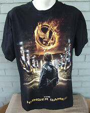 The Hunger Games Black T-Shirt Size XL Movie
