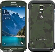 Samsung Galaxy S5 Active SM-G870A AT&T GREEN LTE 16GB 16MP (Latest Model) GOOD