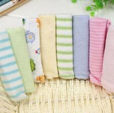 New 8pcs/Pack Brand New Baby Face Washers Hand Towels Cotton Wipe Wash Cloth SK
