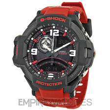 *NEW* CASIO G-SHOCK MENS AVIATION TWIN SENSOR WATCH - GA-1000-4B - RRP £260