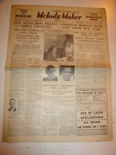 MELODY MAKER 1934 AUGUST 18 LEW STONE LONDON COLISEUM HARLEM RHAPSODY