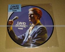 DAVID BOWIE - FAME - PICTURE DISC VINYL - 40 éme ANNIVERSAIRE  COLLECTOR  NEUF