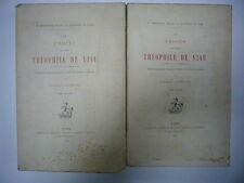 FREDERIC LACHEVRE – LE PROCES DU POETE THEOPHILE DE VIAU 1909 CHAMPION 2 V TBE