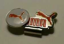 Brand New White and Orange Puma Golf Ball marker with hat clip!!