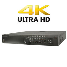 4K HDMI 3840 x 2160 16CH 16 Built-in PoE 160Mbps Up to 12 Megapixels NVR NO HDD