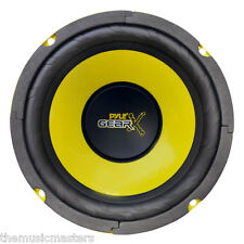 "Single 6.5"" inch 6 1/2"" Performance Car Audio Mid Bass Woofer HQ Stereo Speaker"