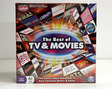 Spin Master Games - Best of Movies & TV Board Game - Damaged Box    *NEW*