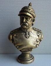 German statesman politic Otto von Bismarck bust H-19 cm