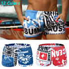 Men's Swimwear Sexy Sports Boxers Swimming Trunks Board Shorts Slim Beach Pants