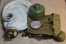 Size 3 (L) Military Soviet  Russian Gas Mask GP-5  Grey  .Full Set, New