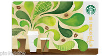 "New Starbucks Taiwan ""How To Make Coffee"" Gift Card + sleeve  FREE SHIPPING"