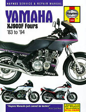 HAYNES 3239 MOTORCYCLE REPAIR OWNER MANUAL YAMAHA XJ900F FOURS 1983 - 1994