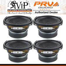 "PRV 4MR60-4 (Four) 4"" Midrange Woofer Speaker Full Range Vocal Driver - DEALER -"