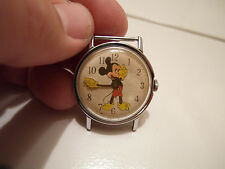 RARE VINTAGE 60S MICKEY MOUSE WALT DISNEY PRODUCTION INGERSOLL MANUAL WIND WATCH
