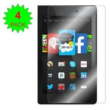 4X Clear Screen Protector Guard Shield - Amazon Kindle Fire HD 7 (2014 Release)
