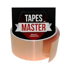 "Copper Foil Tape - 1.5"" X 10ft - EMI Conductive Adhesive / Ship from USA"